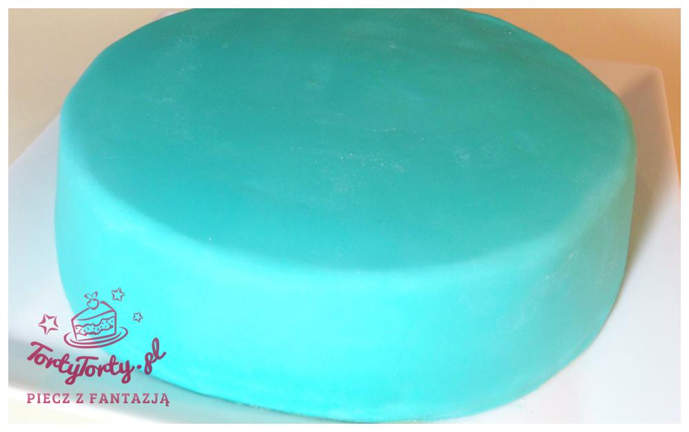 tort z lukrem JAK OBŁOŻYĆ TORT MASĄ CUKROWĄ?
