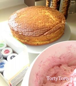 Ozdabianie tortu kremem