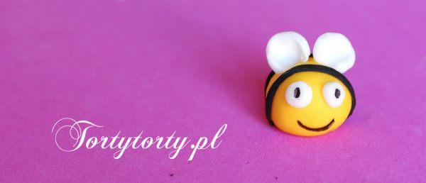 Usmiech pszczolki MASA CUKROWA PSZCZÓŁKA